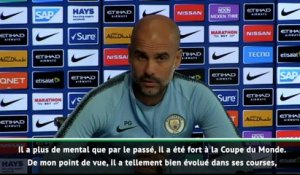 "Man City - Guardiola : ""Sterling a plus de mental qu'avant"""