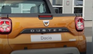 Dacia Duster Pick-up : une version inédite en Roumanie