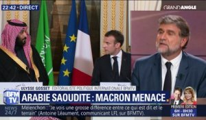 Affaire Khashoggi: Macron menace l'Arabie Saoudite