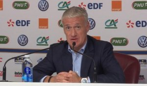 "Deschamps : ""Martial a un potentiel incroyable"""
