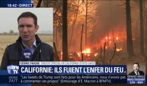 Californie: Le feu continue sa course