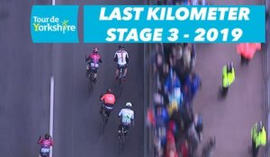 Étape 3 / Stage 3 Bridlington / Scarborough - Flamme Rouge / Last Kilometer - Tour de Yorkshire 2019
