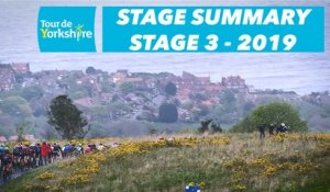 Stage 3 Bridlington / Scarborough - Summary - Tour de Yorkshire 2019
