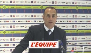 Der Zakarian «On avance» - Foot - L1 - MHSC