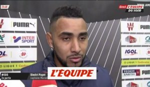 Payet «À deux points de la 2e place» - Foot - L1 - OM
