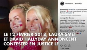 PHOTOS. Laeticia Hallyday : une année sans Johnny en images