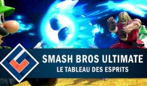 SUPER SMASH BROS ULTIMATE : Le tableau des esprits | GAMEPLAY FR