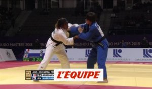 Agbegnenou médaille d'or - Judo - Masters