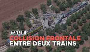 Italie : ce que l'on sait de la collision mortelle entre deux trains