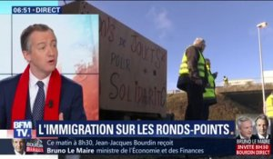 "ÉDITO - Gilets jaunes: ""La France de l'immigration absente des ronds-points"""