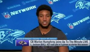 Marlon Humphrey on Lamar Jackson: 'I don't think he's shown what he can really do'