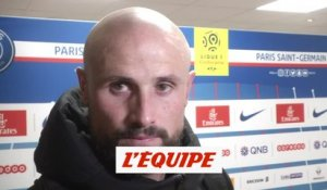 Pallois «On était bien en place» - Foot - L1 - Nantes