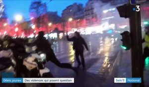 """Gilets jaunes"" : des violences qui posent question"