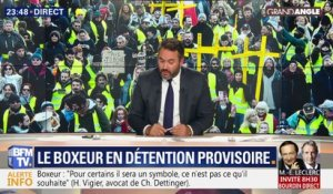 Gilets jaunes : Christophe Dettinger en détention provisoire