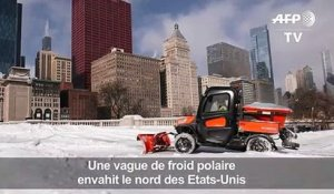 Une vague de froid polaire envahit Chicago
