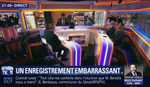Affaire Benalla: Un enregistrement embarrassant