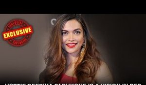 Hottie Deepika Padukone is a vision in red as she talks about her performance | IIFA Awards 2016