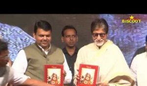 Amitabh Bachchan Launches A Marathi Book Alongside Maharashtra CM