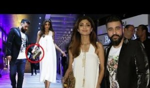 Raj Kundra HELPS Wife Shilpa Shetty To Walk In High Heels