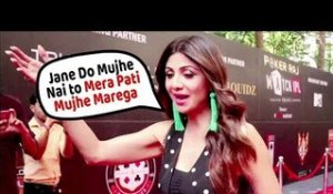 Shilpa Shetty AFRAID of Husband Raj Kundra | Indian Poker League Opening Ceremony