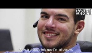 Anthony Nahoul, son handicap, sa force