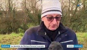 Le domicile de Richard Ferrand incendié