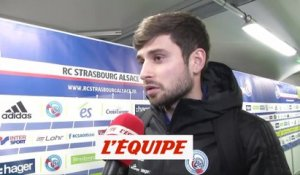 Prcic «Un bon point» - Foot - L1 - Strasbourg