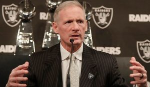 Burleson: Raiders GM Mike Mayock's job is 'just getting started'