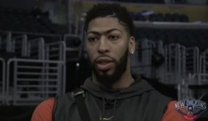 Pelicans at Lakers shootaround: Anthony Davis 02-27-19