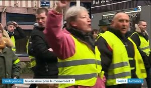 """Gilets jaunes"" : quelle issue au mouvement ?"