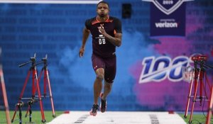 Hamp Cheevers runs an official 4.52 40-yard dash at 2019 combine