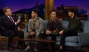 Jonas Brothers Make Epic Appearance on 'Late Late Show With James Corden' | Billboard News