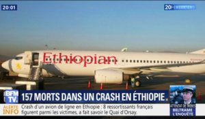 Crash d'Ethiopian Airlines: 8 Français figurent parmi les 157 victimes