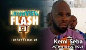 Interview Flash : Les positions tranchées de Kemi Seba