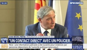 """Il y a eu un contact direct entre un membre des forces de l'ordre et madame Legay"""