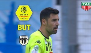 But Thomas MANGANI (36ème pen) / Olympique de Marseille - Angers SCO - (2-2) - (OM-SCO) / 2018-19