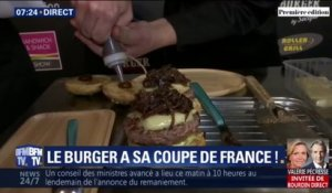 Le burger a sa coupe de France ce lundi à Paris