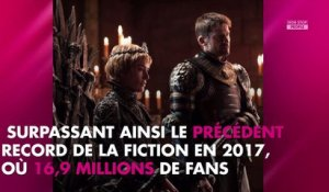 Game of Thrones : Le coup d'envoi de la saison 8 bat des records