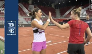 Fed Cup France-Roumanie : la minute bleue n°3