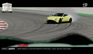 Zone Rouge : BMW 850i VS Aston Martin Vantage : Duel de haute couture - Direct Auto - 20/04/2019