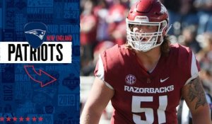 Patriots select Hjalte Froholdt No. 118 in the 2019 draft