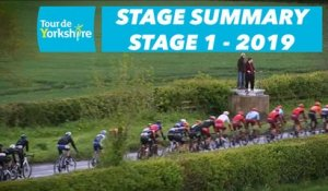 Stage 1 Doncaster / Selby - Summary - Tour de Yorkshire 2019