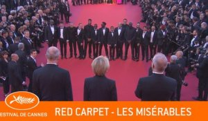 LES MISERABLES - Red Carpet - Cannes 2019 - EV