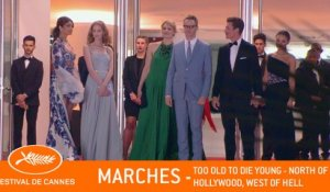 TOO OLD TO DIE YOUNG - Les marches - Cannes 2019 - VF