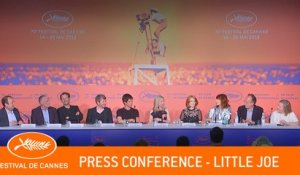 LITTLE JOE - Press conference  -  Cannes 2019 - EV