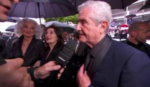 "Avec ce film, on va de miracle en miracle"" Claude Lelouch - Cannes 2019"