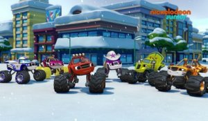 Blaze et les Monster Machines | Blaze et Blizzard | NICKELODEON JUNIOR