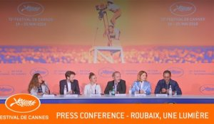 ROUBAIX UNE LUMIERE - Press conference - Cannes 2019 - EV