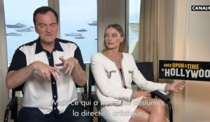 Souvenirs de tournage de Once upon a time in Hollywood - Cannes 2019