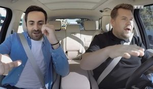 "Camille Combal et James Corden en ""Carpool Karaoké"" : ""Allez les blues !"""
